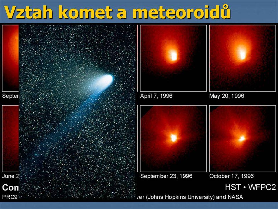 Vztah komet a meteoroidů