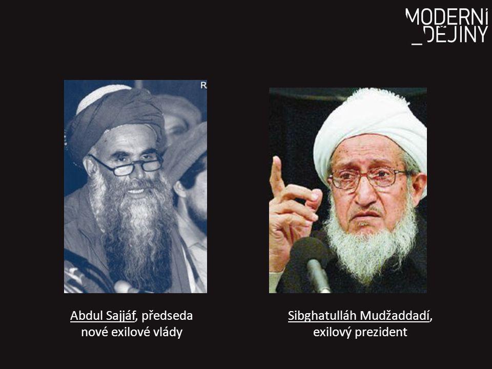 Abdul Sajjáf, předseda nové exilové vlády