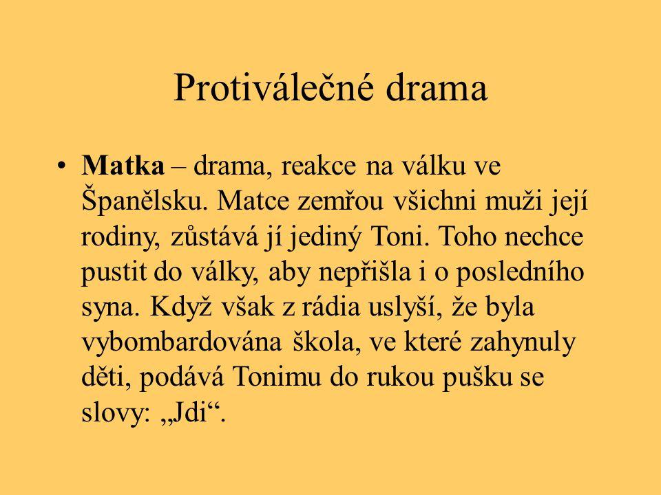Protiválečné drama