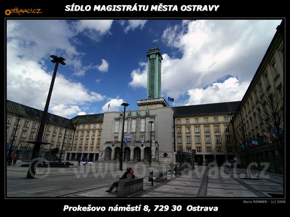 Prokešovo náměstí 8, 729 30 Ostrava