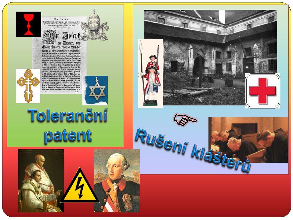 Toleranční patent  Rušení klášterů