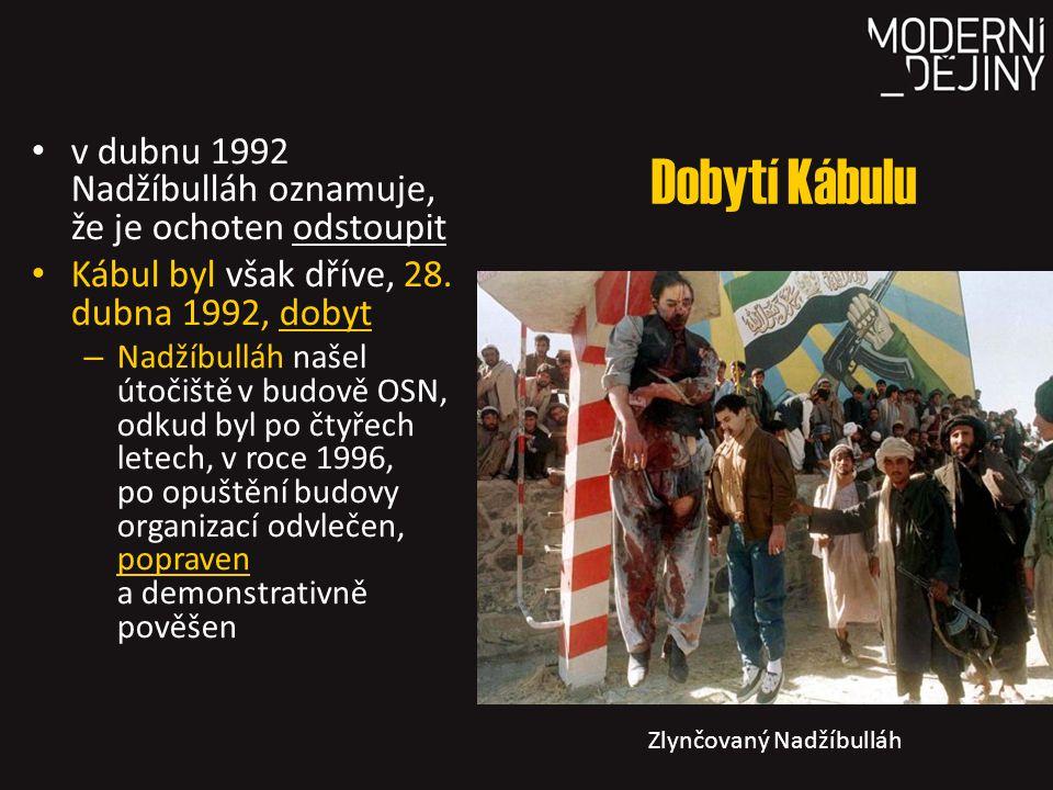 Zlynčovaný Nadžíbulláh