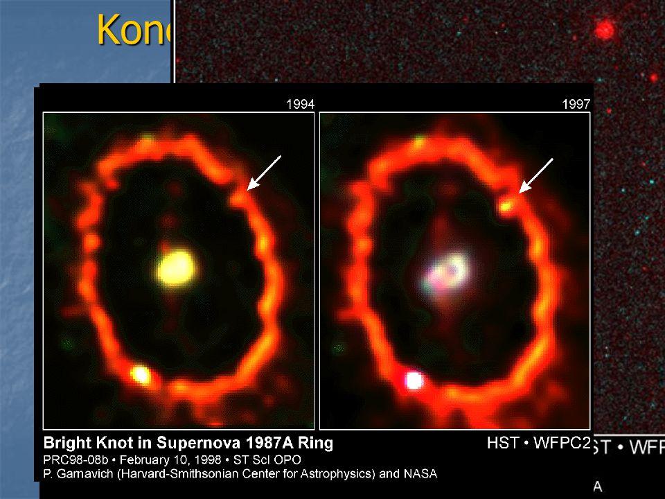 Konečné fáze vývoje hvězd