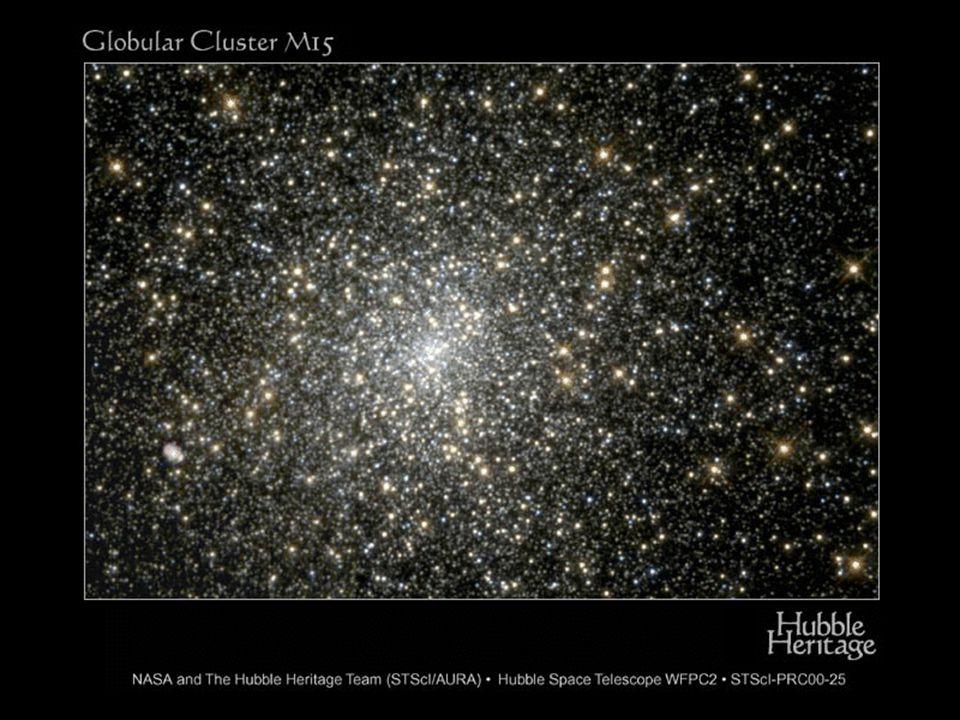 Hvězdné soustavy Hvězdy se velmi často spojují do dvojhvězd, trojhvězd, … Velmi složité systémy tvoří hvězdokupy (tisíce až statisíce hvězd)