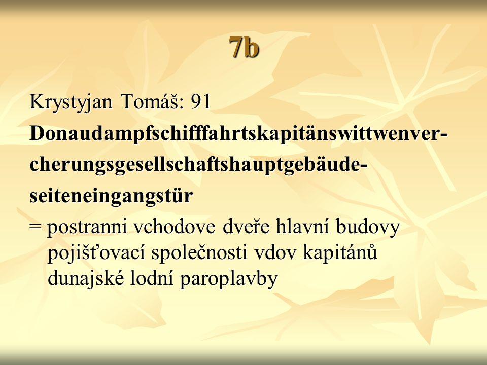 7b Krystyjan Tomáš: 91 Donaudampfschifffahrtskapitänswittwenver-