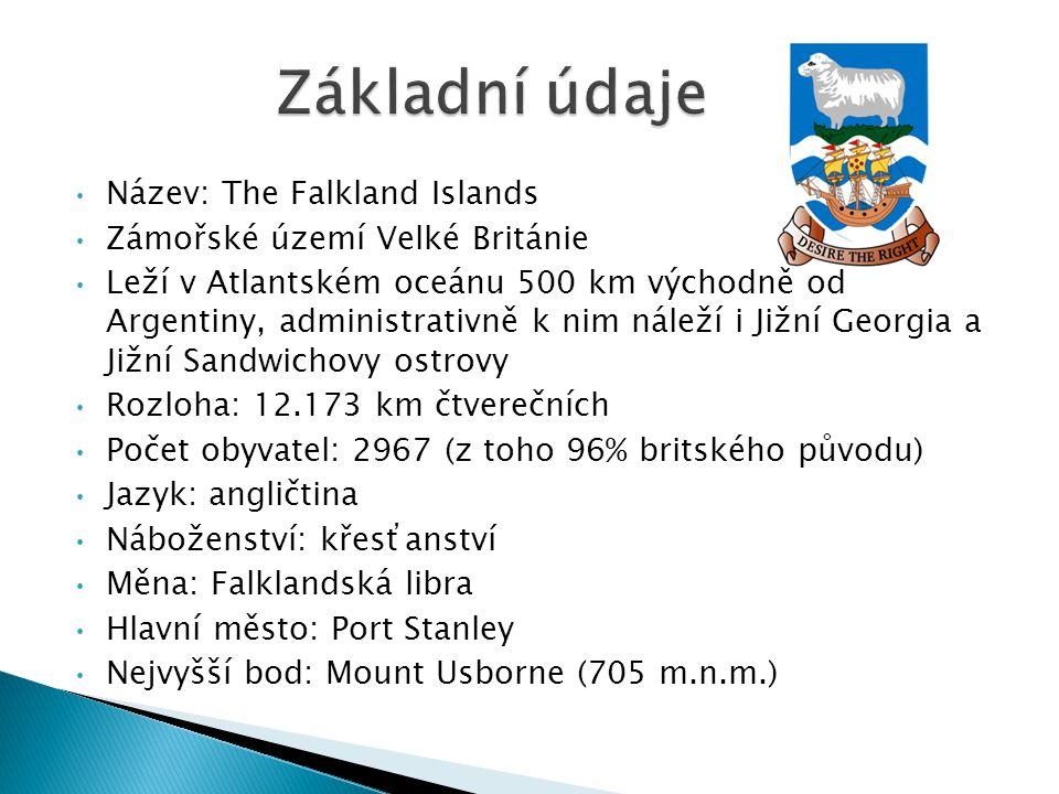 Základní údaje Název: The Falkland Islands