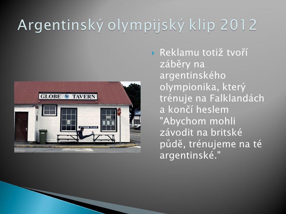 Argentinský olympijský klip 2012