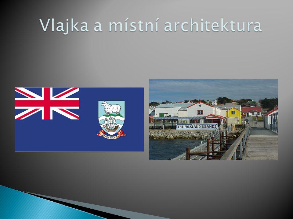 Vlajka a místní architektura
