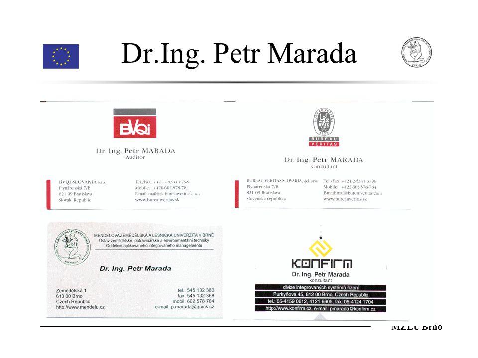 Dr.Ing. Petr Marada