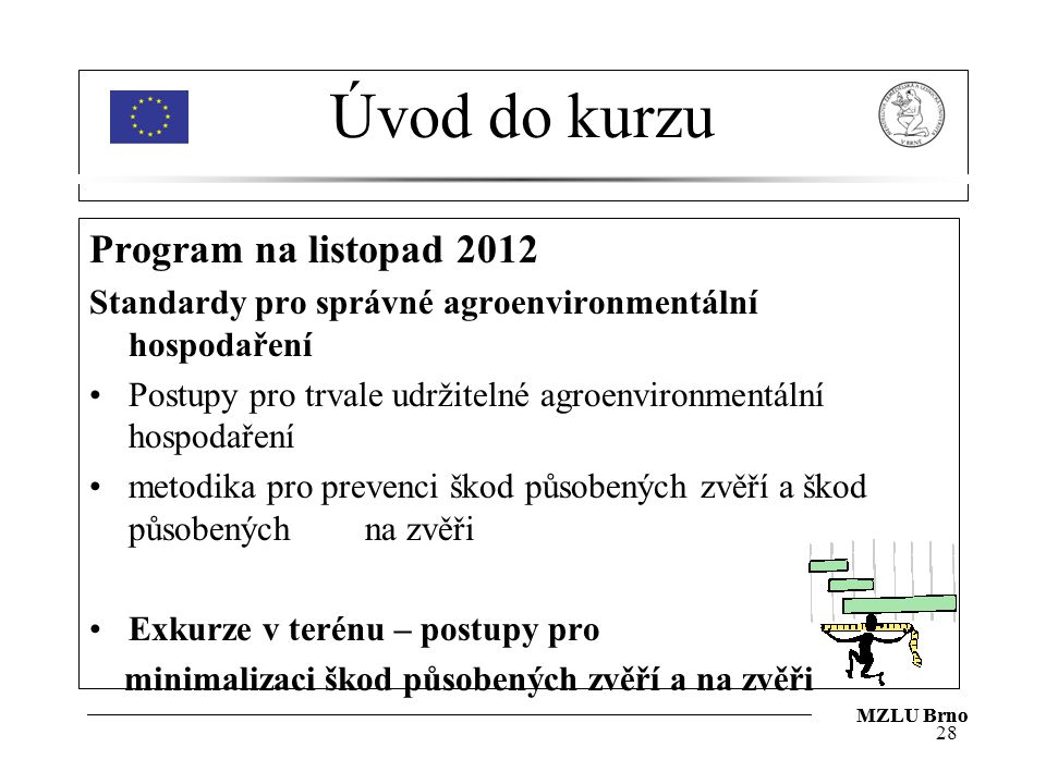 Úvod do kurzu Program na listopad 2012