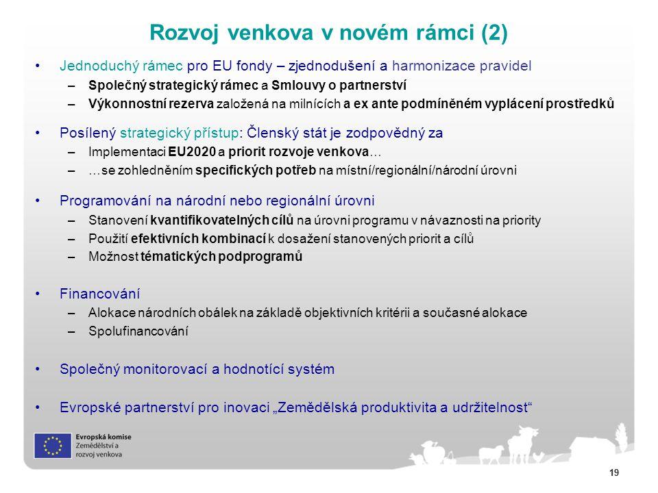 Rozvoj venkova v novém rámci (2)