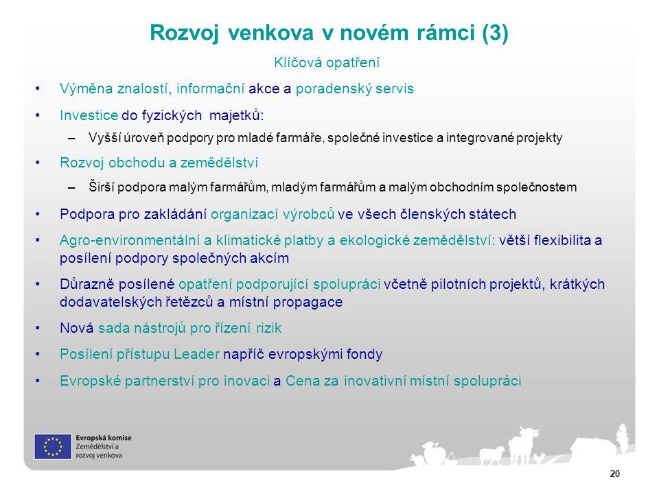 Rozvoj venkova v novém rámci (3)