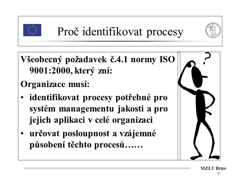 Proč identifikovat procesy