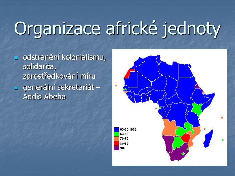 Organizace africké jednoty