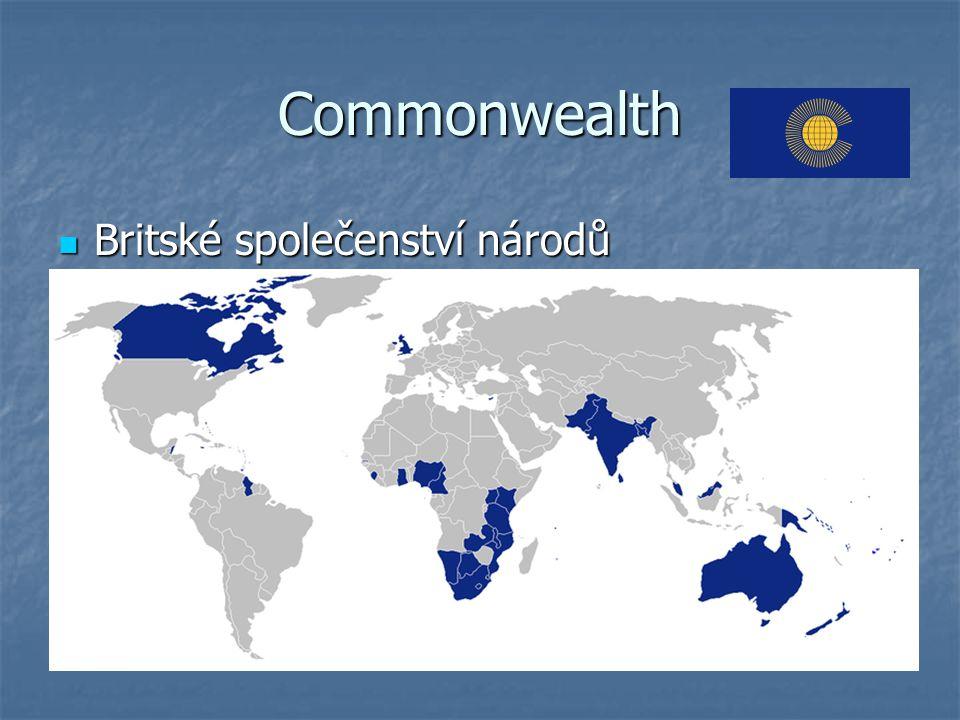 Commonwealth Britské společenství národů