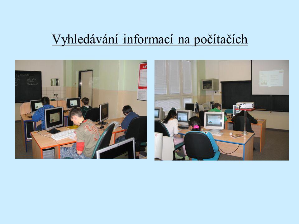 Vyhledávání informací na počítačích