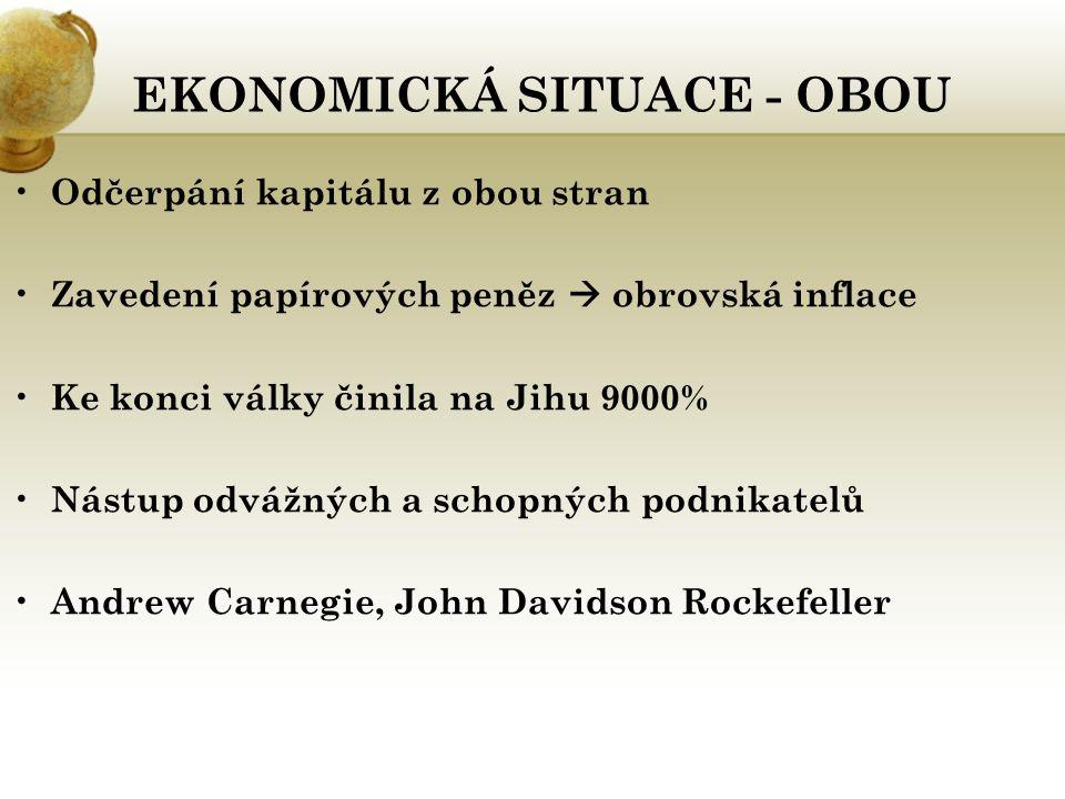 EKONOMICKÁ SITUACE - OBOU