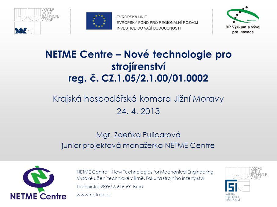 Krajská hospodářská komora Jižní Moravy 24. 4. 2013
