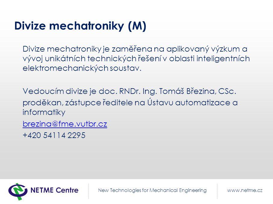 Divize mechatroniky (M)