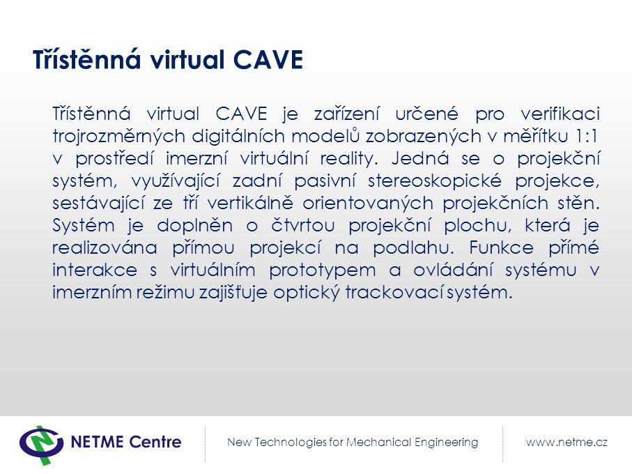 Třístěnná virtual CAVE