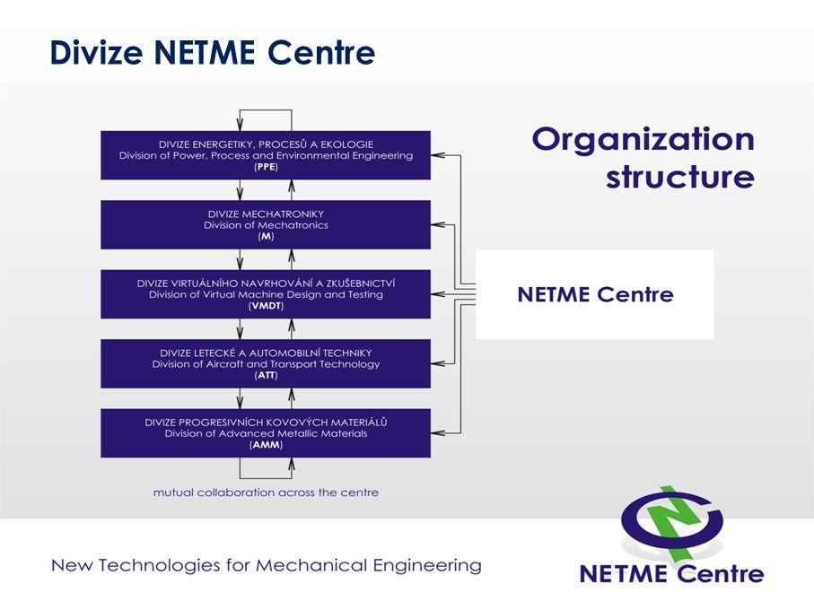 Divize NETME Centre