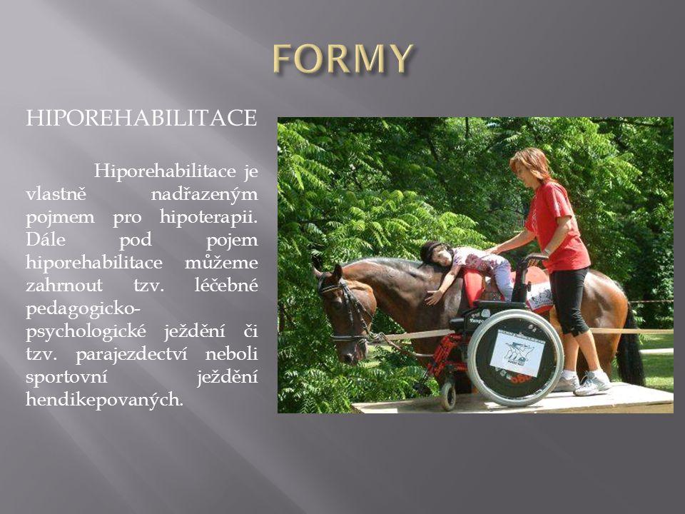 FORMY HIPOREHABILITACE