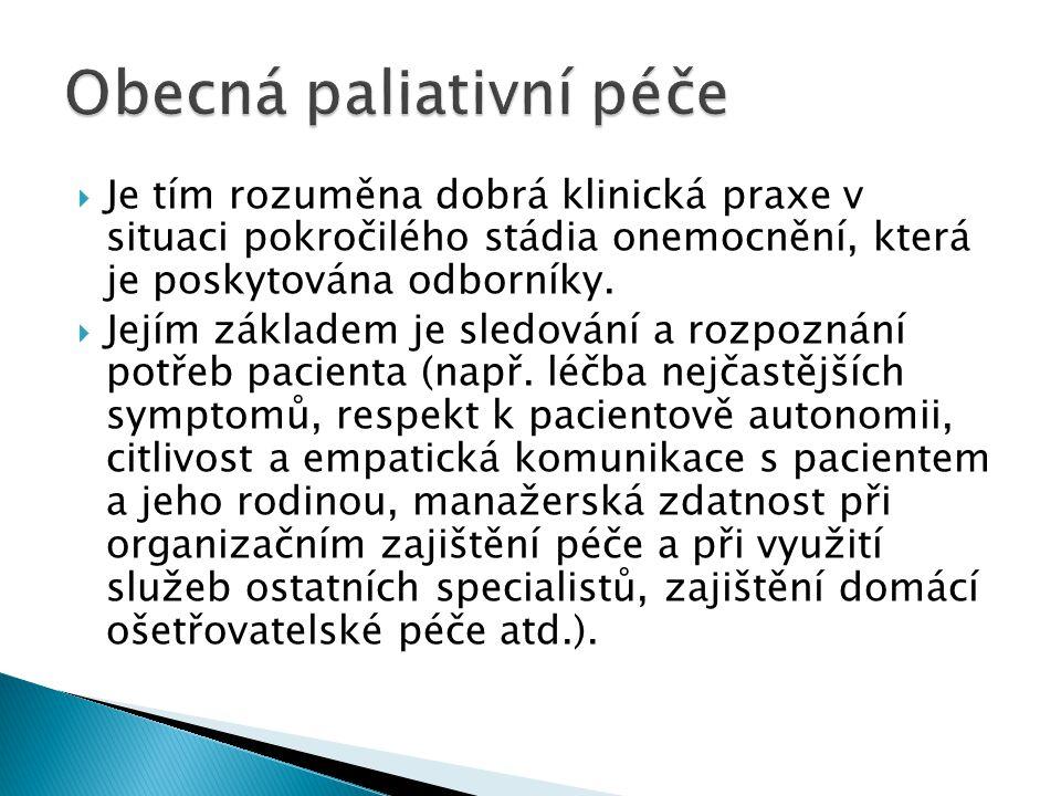 Obecná paliativní péče