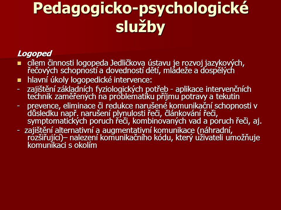 Pedagogicko-psychologické služby