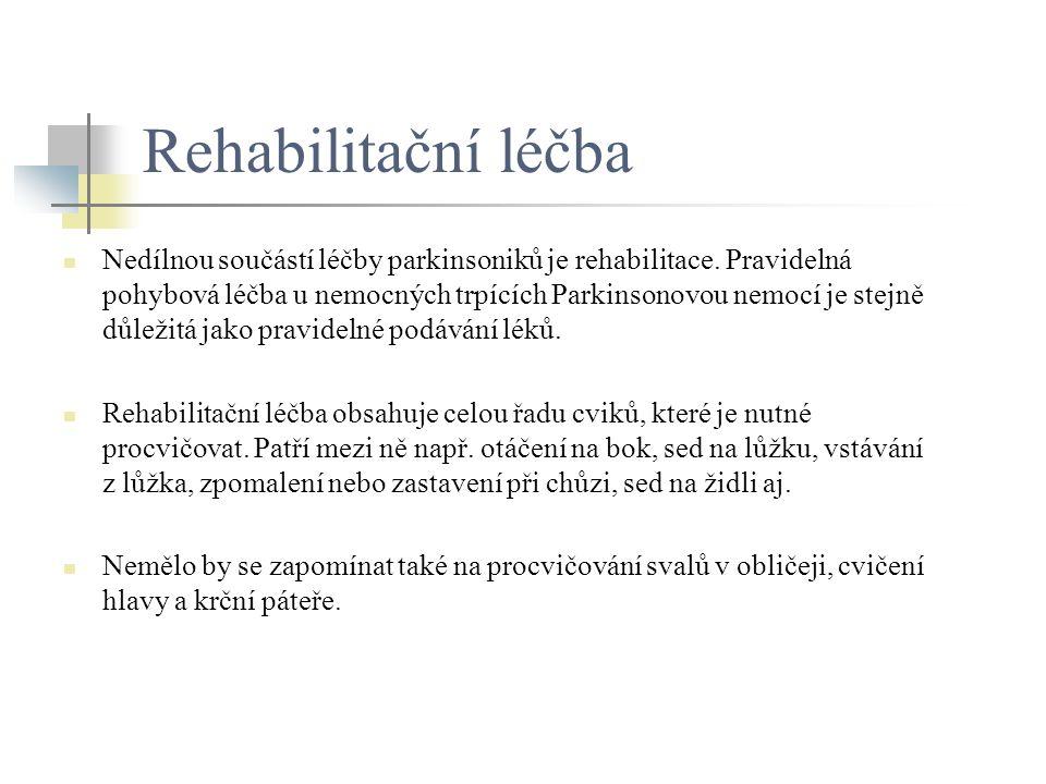 Rehabilitační léčba