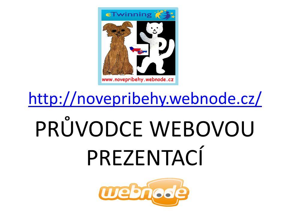 Průvodce webovou prezentací