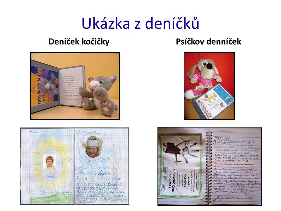 Ukázka z deníčků Deníček kočičky Psíčkov denníček