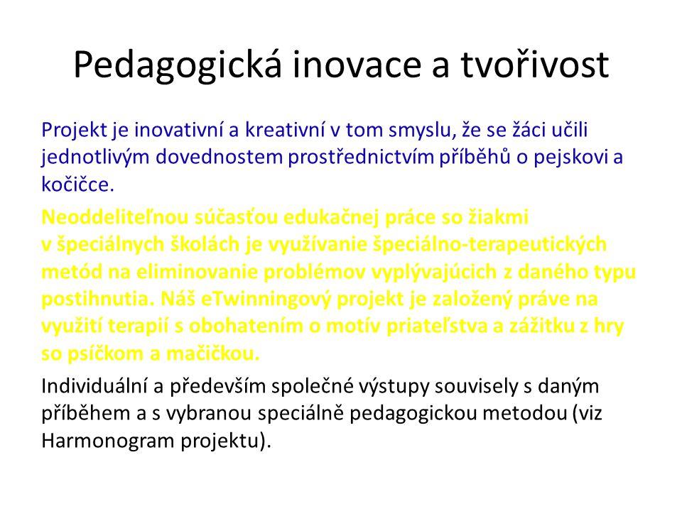 Pedagogická inovace a tvořivost