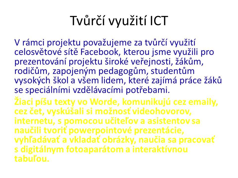 Tvůrčí využití ICT