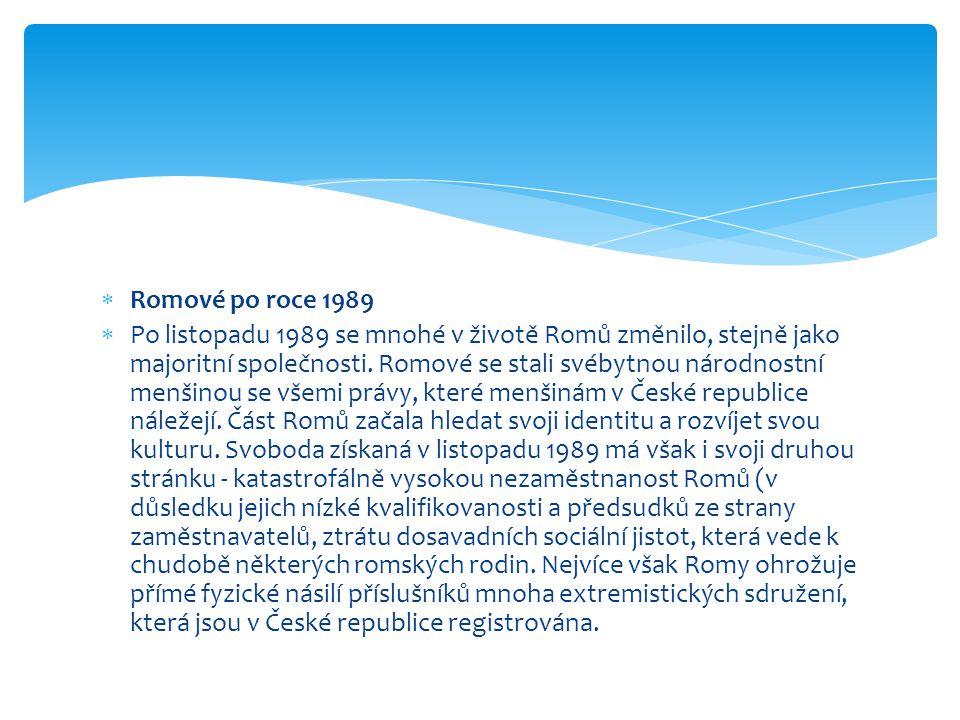 Romové po roce 1989