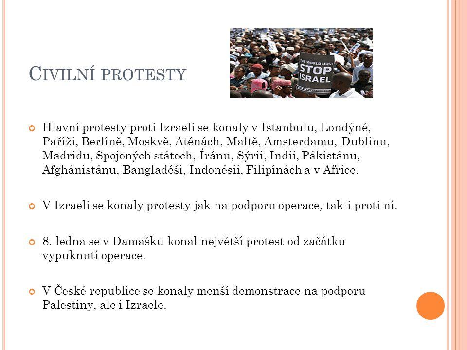 Civilní protesty