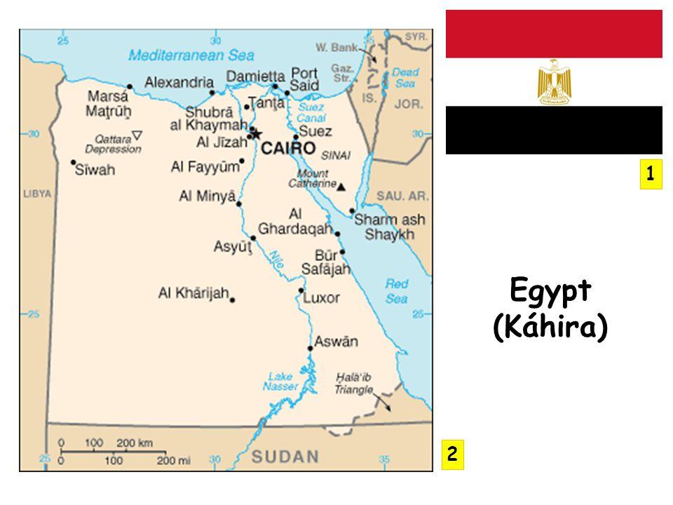 1 Egypt (Káhira) 2