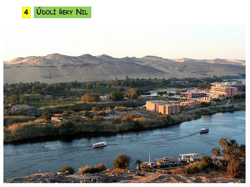4 Údolí řeky Nil