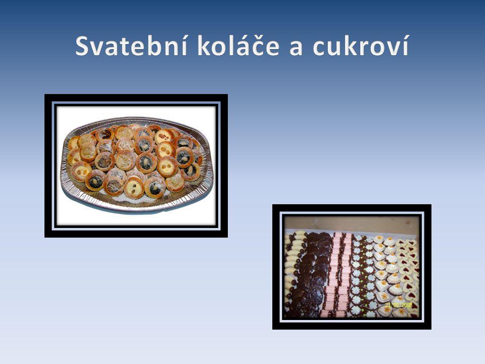 Svatební koláče a cukroví