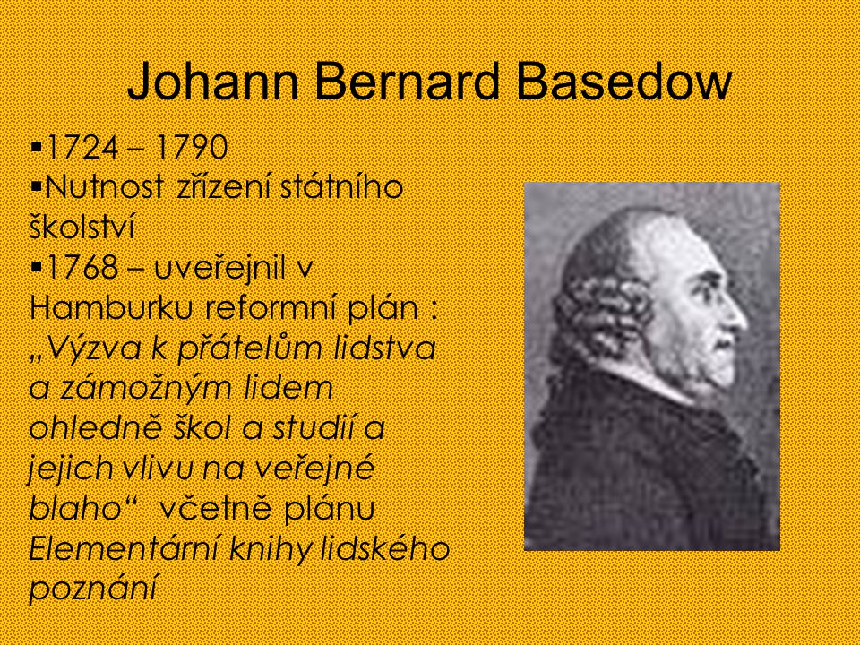 Johann Bernard Basedow
