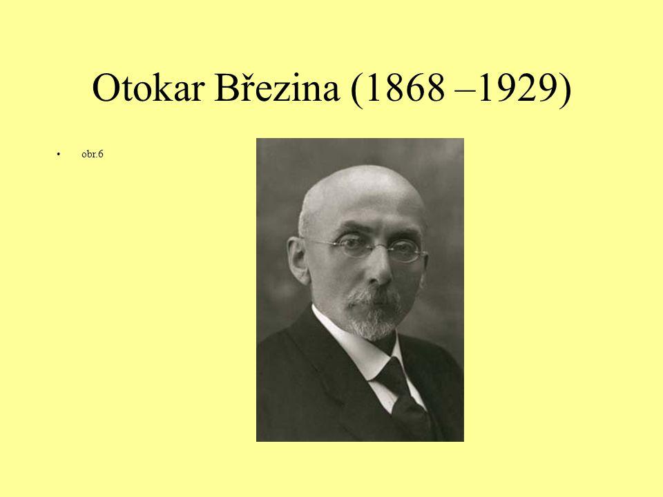 Otokar Březina (1868 –1929) obr.6