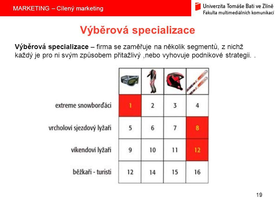 Výběrová specializace