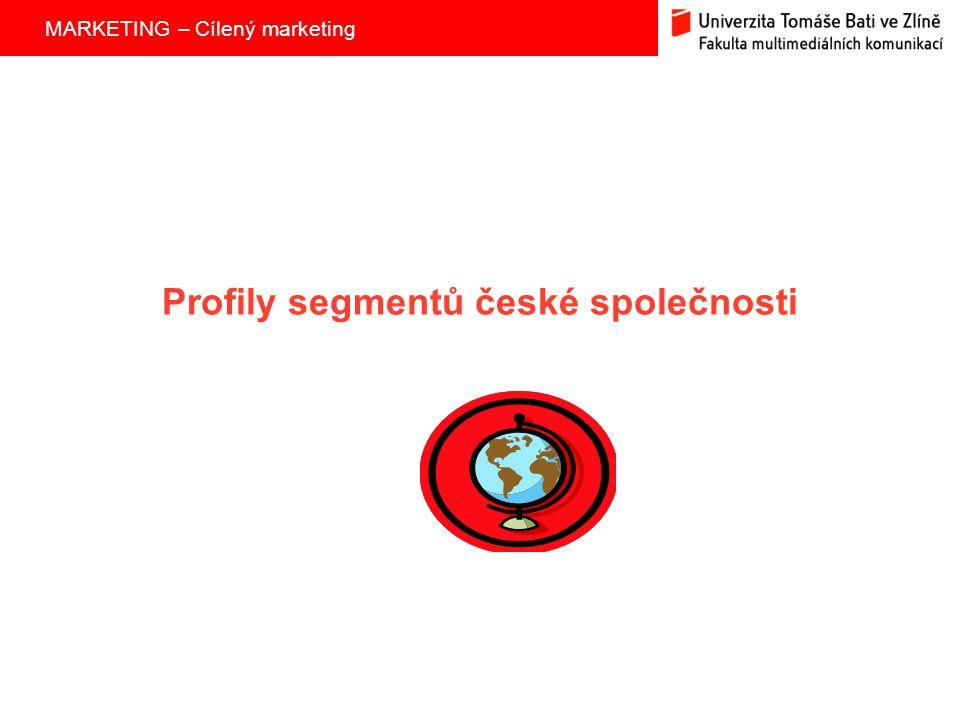 Profily segmentů české společnosti