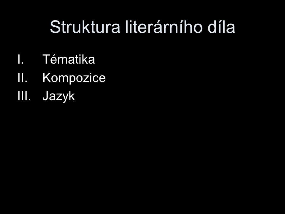 Struktura literárního díla
