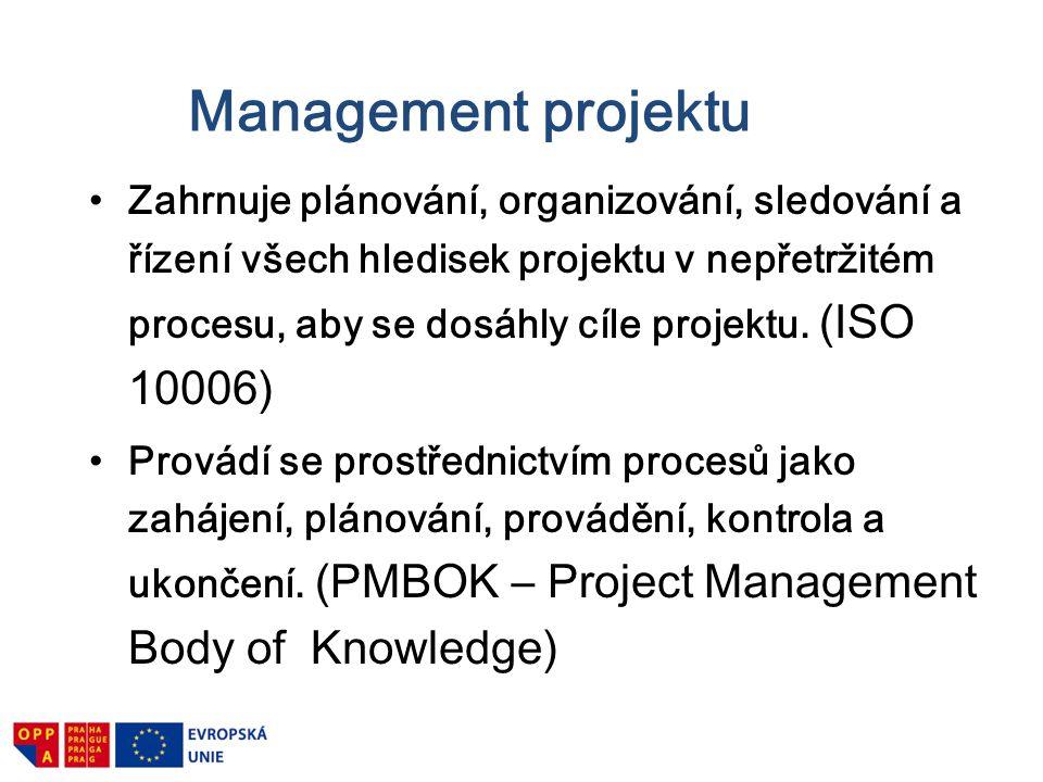 Management projektu