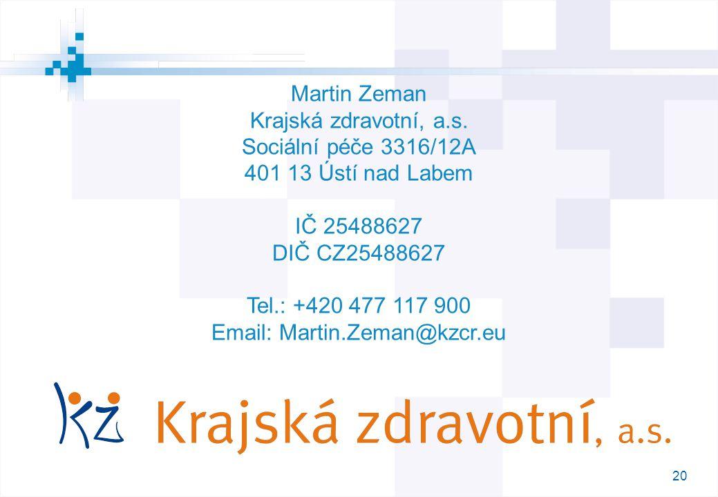 Email: Martin.Zeman@kzcr.eu