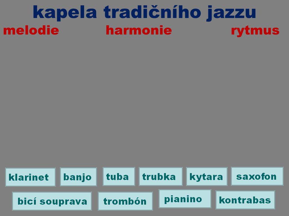 kapela tradičního jazzu