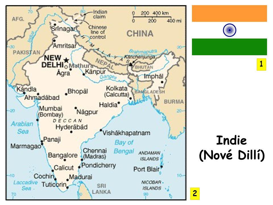 1 Indie (Nové Dillí) 2