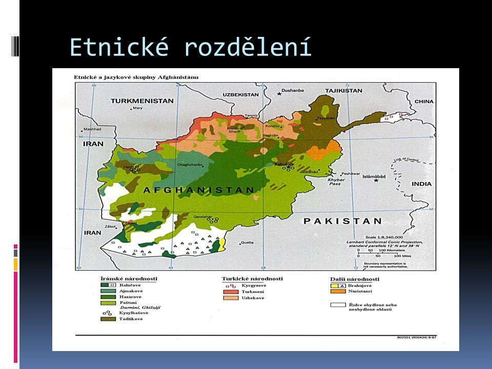 Etnické rozdělení