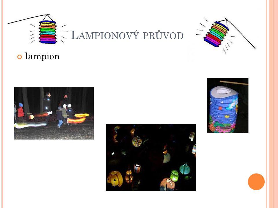 Lampionový průvod lampion
