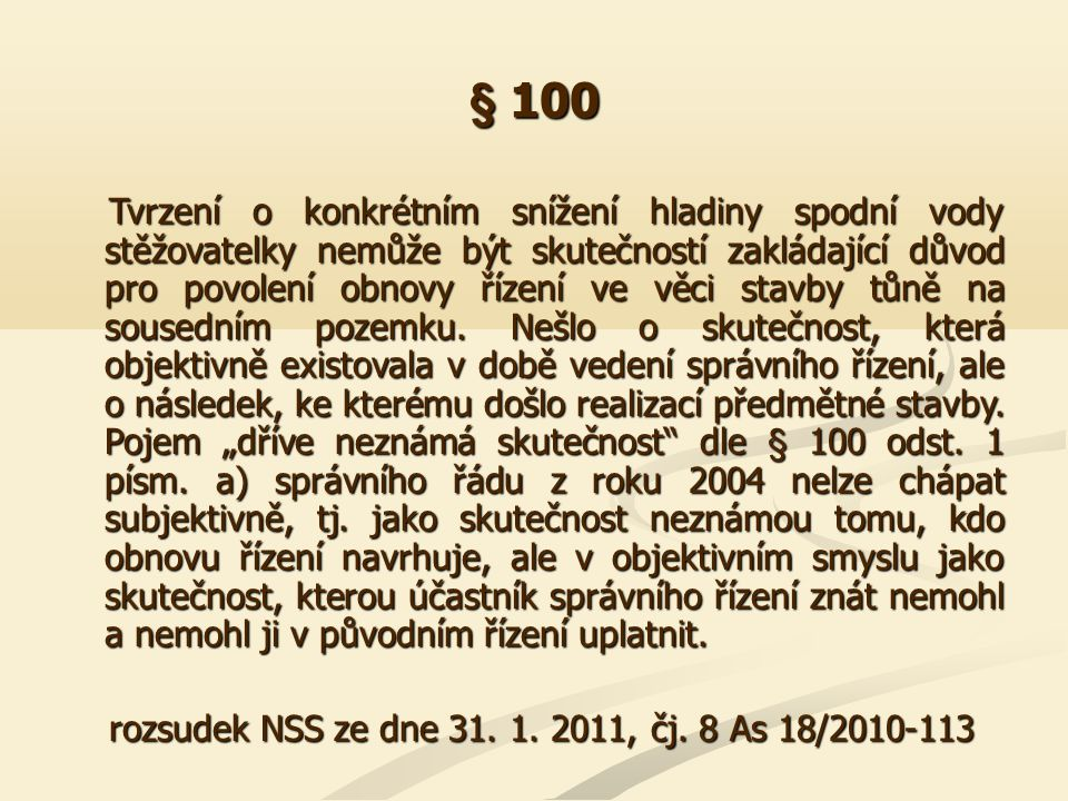 § 100